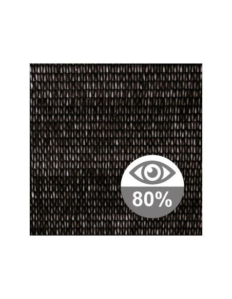 Malla ocultación 80%