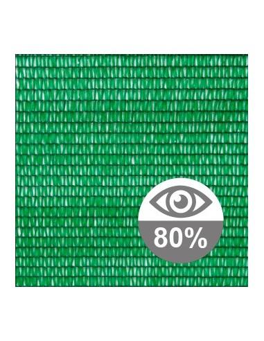 Malla sombreo 80%