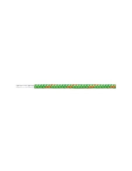 Cordón fantasía verde fluor