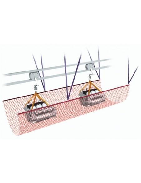 Red de protección de vías de fabricación y conveyor