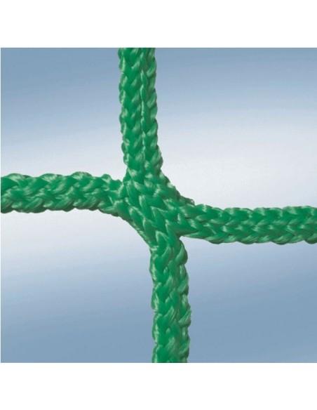 Red de protección de vías de fabricación y conveyor verde