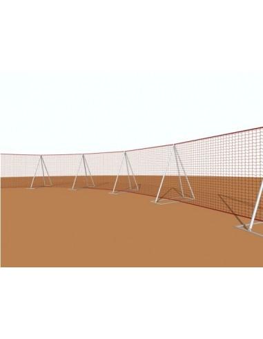 Redes para cerramiento de vertederos