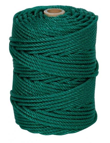 Bobina cuerda cableada polietileno azul