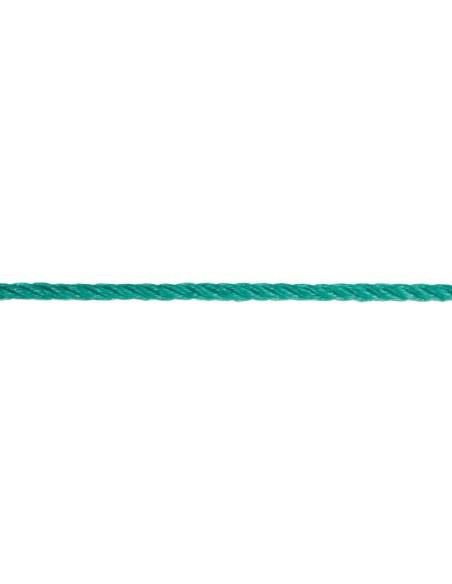 Cuerda cableada polietileno detalle