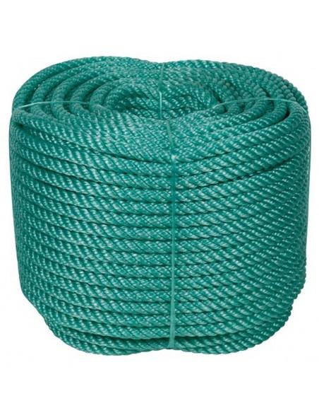 Rollo cuerda cableada polietileno