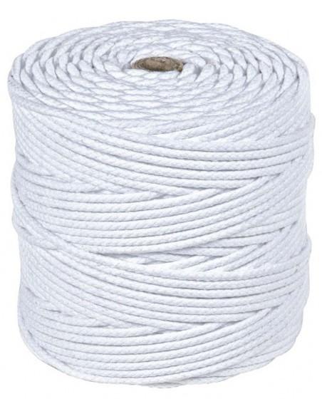Bobina adeja cuerda algodón trenzada con alma