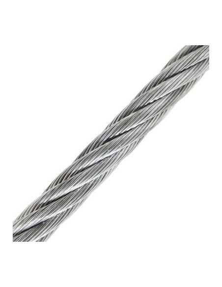 Cable de Acero Cincado - detalle medidas