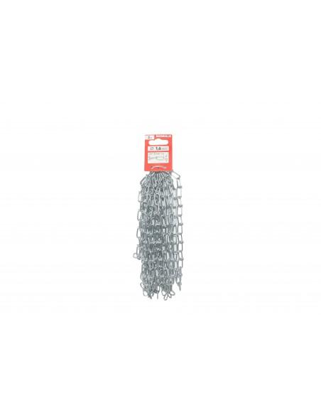 Cadena de nudos de Acero Inoxidable - precortada - presentación
