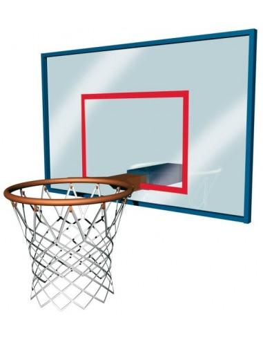 Redes Baloncesto con 12 enganches en Poliamida