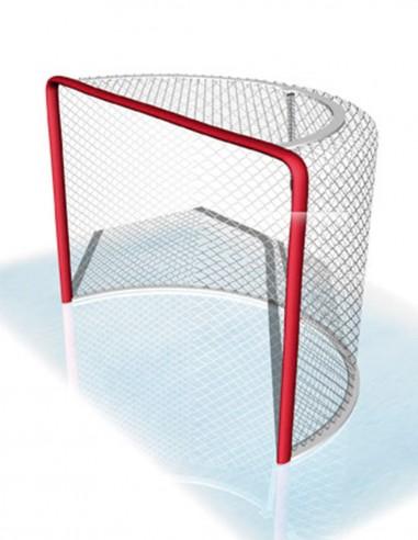 Redes Hockey Hielo y Patines en Polipropileno