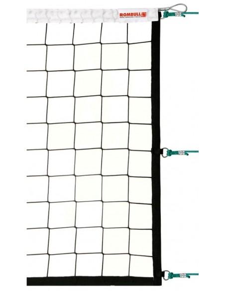 Red Voleibol Alta Competición con cinta superior + inferior en PVC - detalle