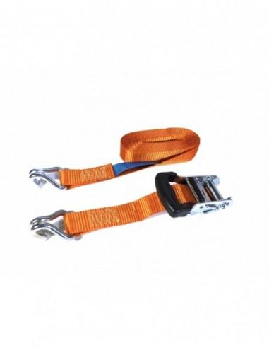 Trincaje PES 35mm/6m gancho J naranja