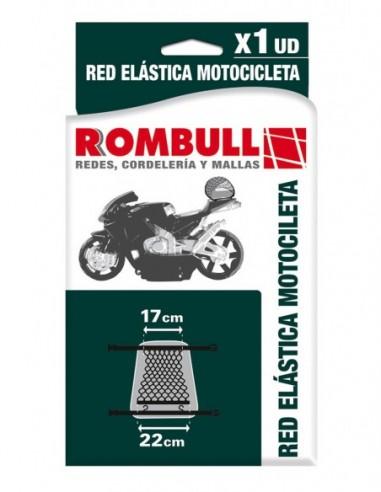 Red Elástica Motocicleta Negra