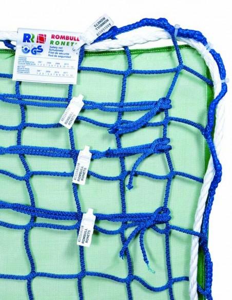 Red de seguridad al cuadro con mosquiteras