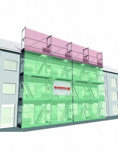 Sistema de protección de fachada