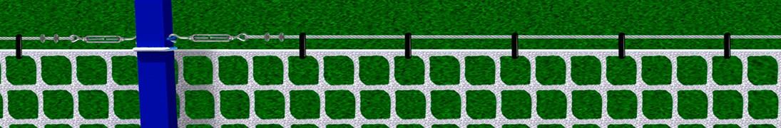 Accesorios para redes deportivas